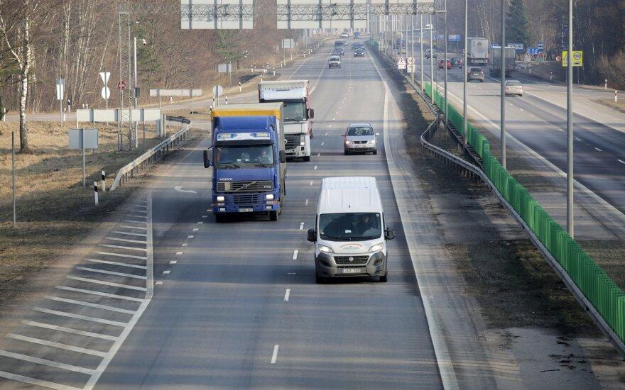 На магистрали Вильнюс-Каунас грядут перемены: разрешат скорость до 130 км/ч