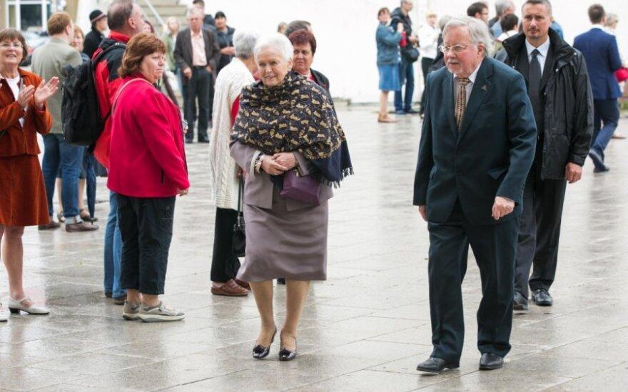 Vytautas Landsbergis ir Gražina Landsbergienė