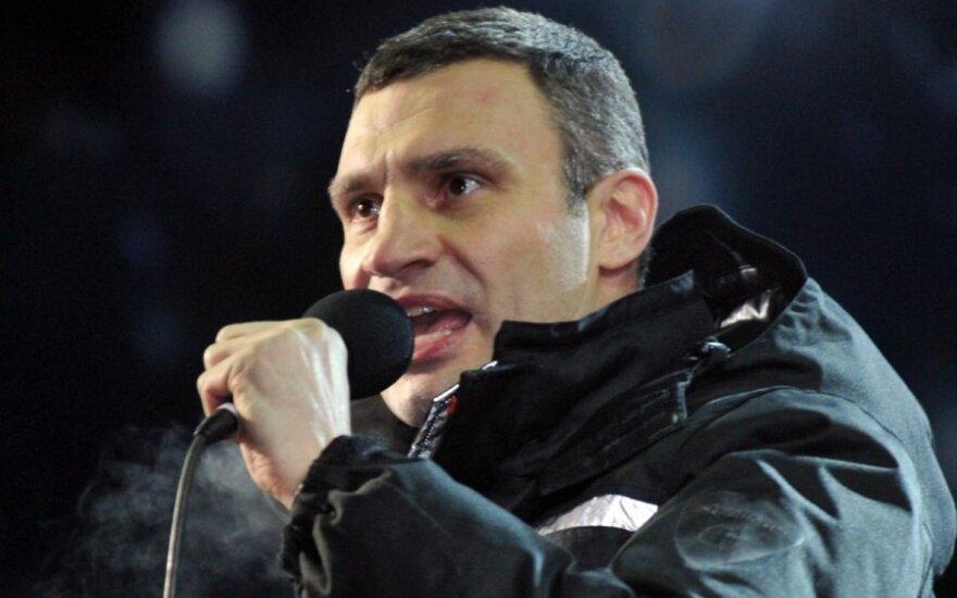 Кличко заявил, что Янукович не ведет переговоры с оппозицией