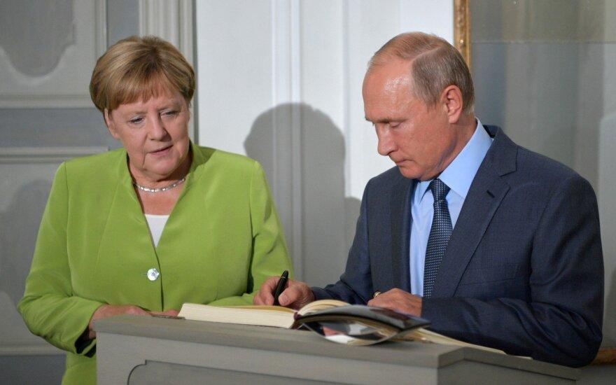 """Меркель и Путин договорились задействовать """"нормандский формат"""" в керченском кризисе"""
