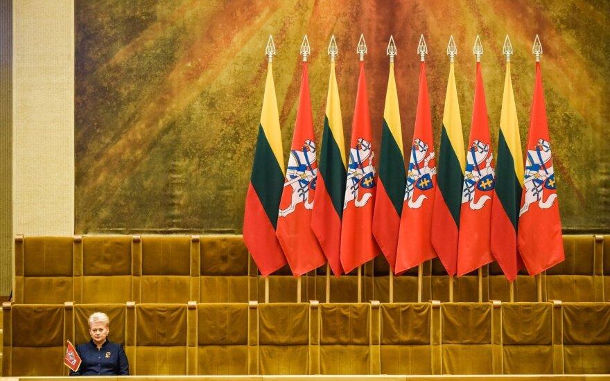 В парламенте – торжественное заседание по случаю Дня восстановления независимости