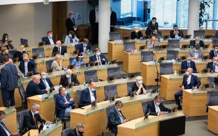 Сейм отложил рассмотрение вопроса об упрощении открытия счетов для компаний из третьих стран