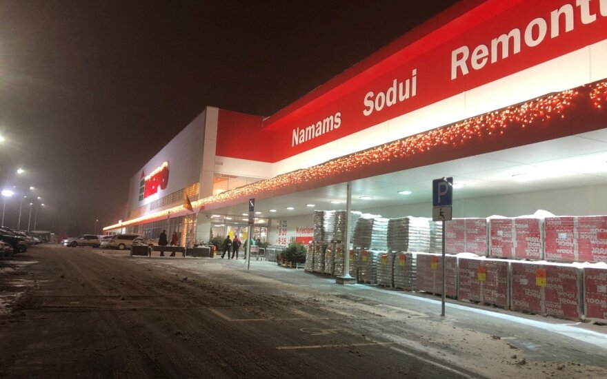 """""""Depo"""" parduotuvės Vilniuje atidarymas"""