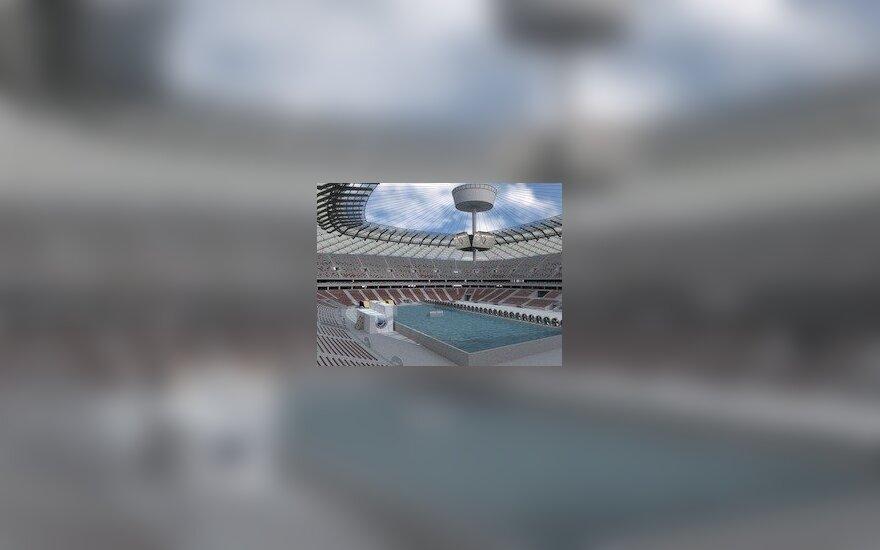 Basen na Stadionie Narodowym w Warszawie