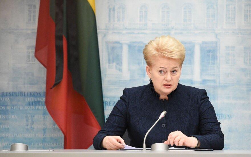 Lithuanian President Dalia Grybauskaitė