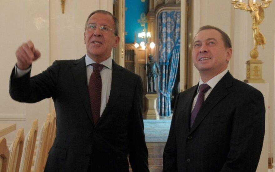Главы МИД Беларуси и России поговорили о Донбассе