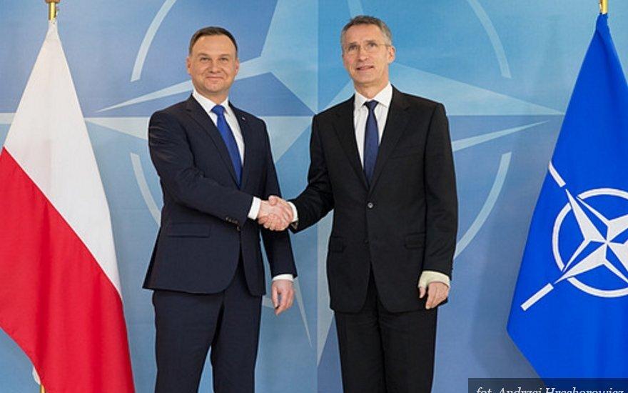 Spotkanie Prezydenta RP z Sekretarzem Generalnym NATO Jensem Stoltenbergiem