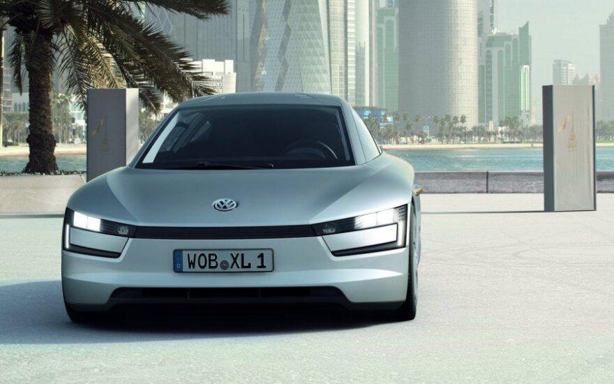 Volkswagen готов к выпуску модели с расходом 0,9 литра на 100 км