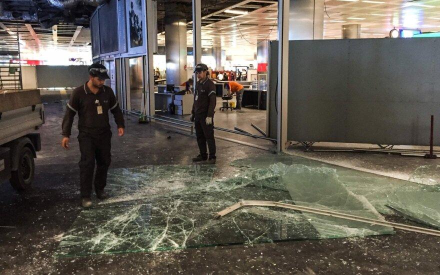 Террористы, устроившие взрывы в аэропорту Стамбула, попали на видео