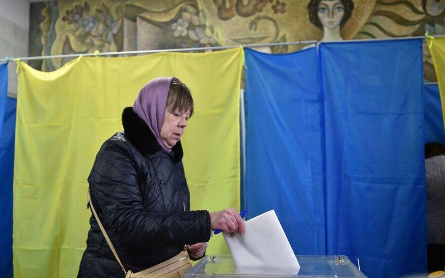 Balsavimas Ukrainoje