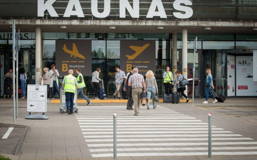 Каунасский аэропорт обслужил миллион пассажиров