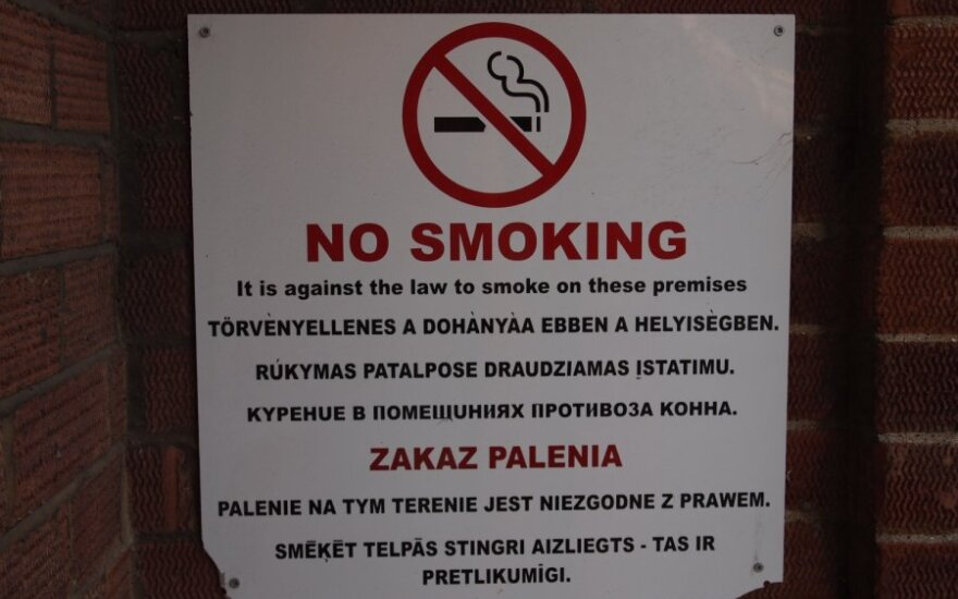 В Каунасе на аллее Лайсвес появятся зоны, где нельзя курить