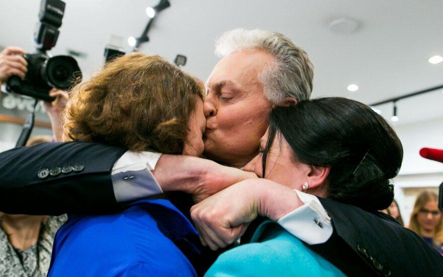 Семья нового президента Литвы: супруга - эксперт по протоколу, дочери проживают за границей