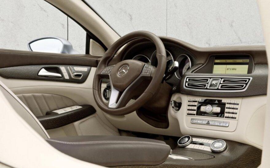Mercedes-Benz рассекретил шикарное четырехдверное купе