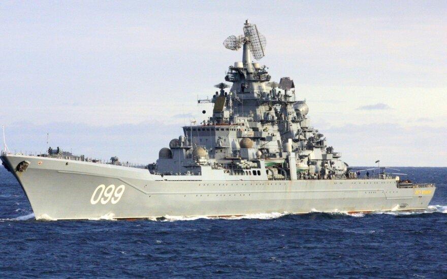 Мимо Эстонии пройдут самые большие российские атомная подлодка и атомный крейсер