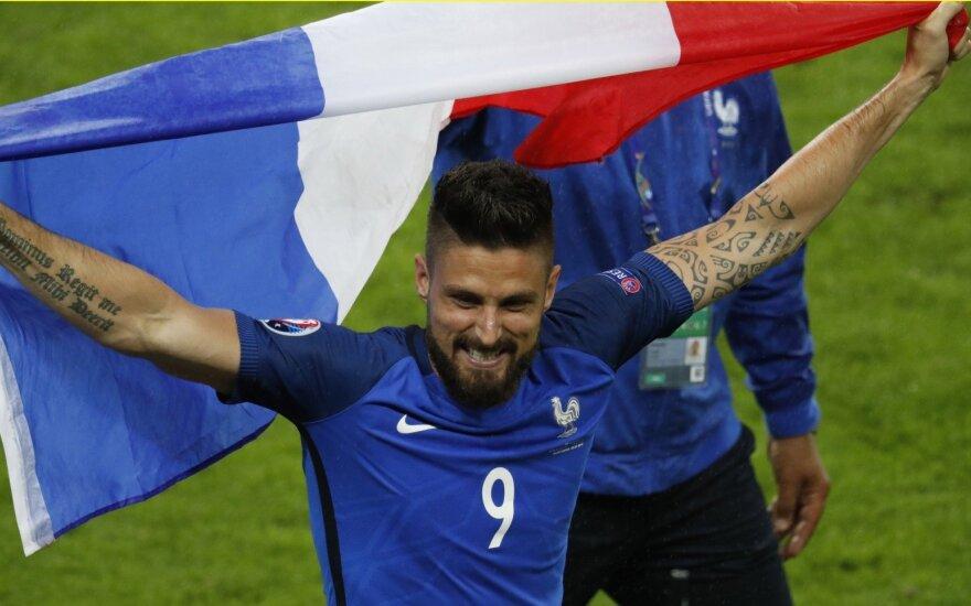 Euro 2016: Prancūzija – Islandija