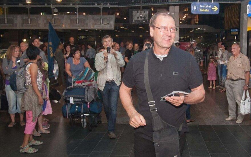 Viktoras Uspaskichas išvyksta į Maskvą