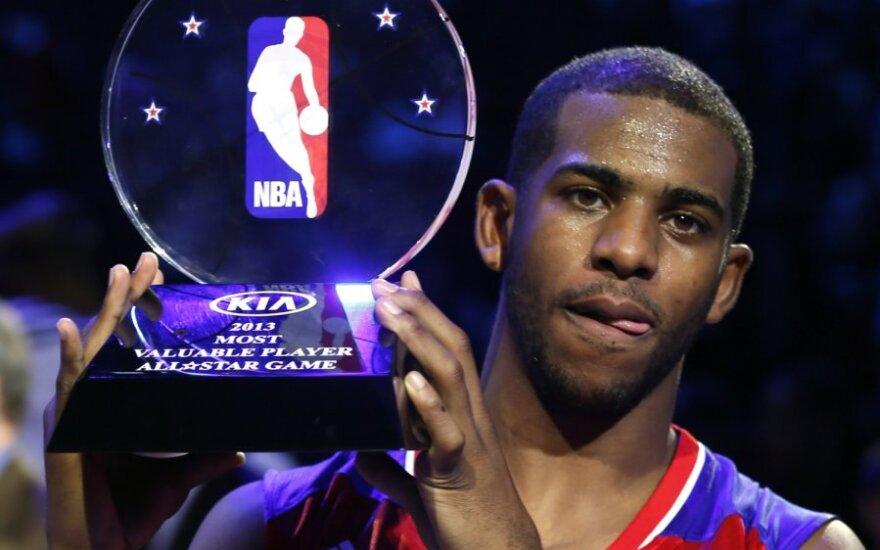 В матче звезд НБА Запад обыграл Восток, MVP - Крис Пол