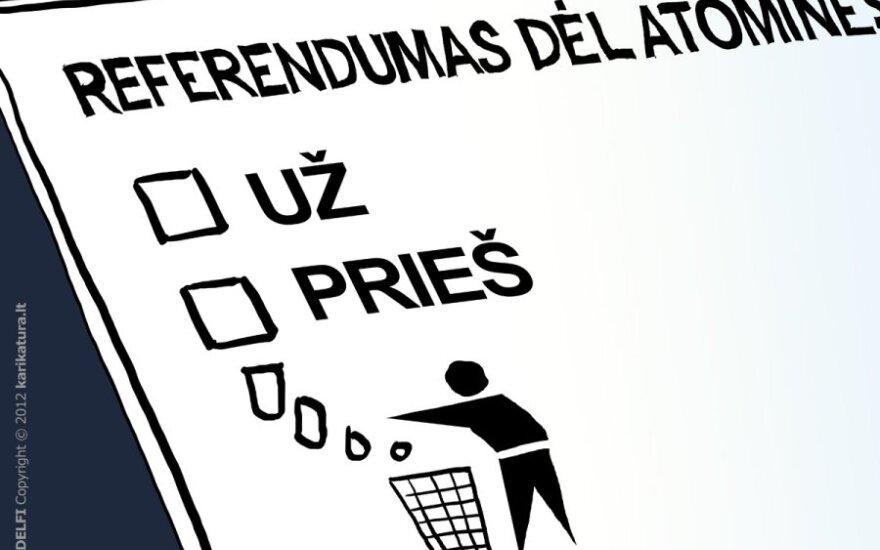 Вердикт избирателей по поводу новой АЭС - в руках Сейма