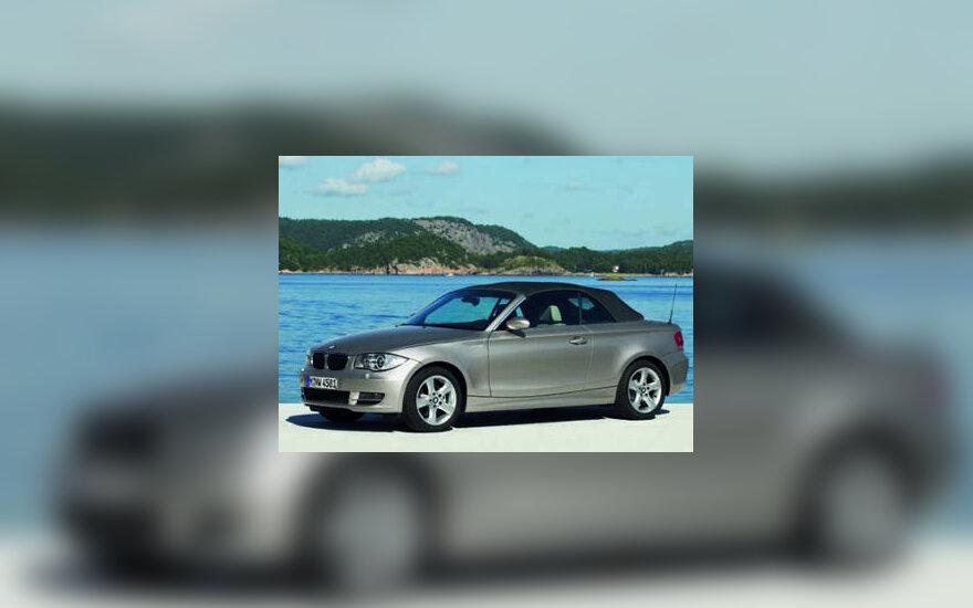 1 serijos BMW kabrioletas