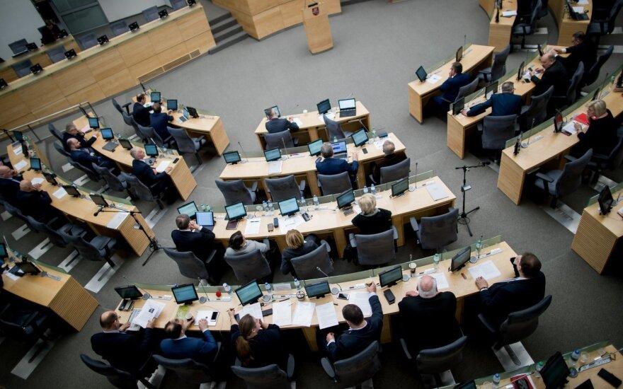 Cейм Литвы в первом чтении решил объявить референдум о сокращении числа депутатов до 121