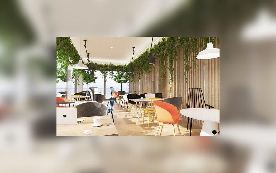 Литовцы построили 14-этажное офисное здание в Риге