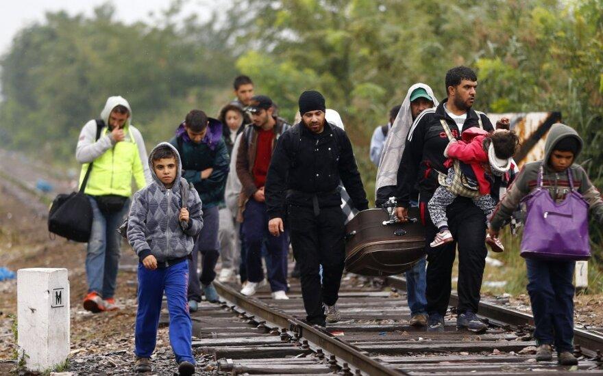 Na Litwę trafi 1105 uchodźców. Selekcja będzie wielopoziomowa
