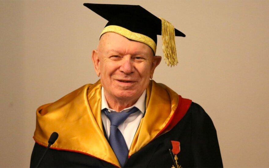 Умер известный ученый-социолог, уроженец Вильно Теодор Шанин