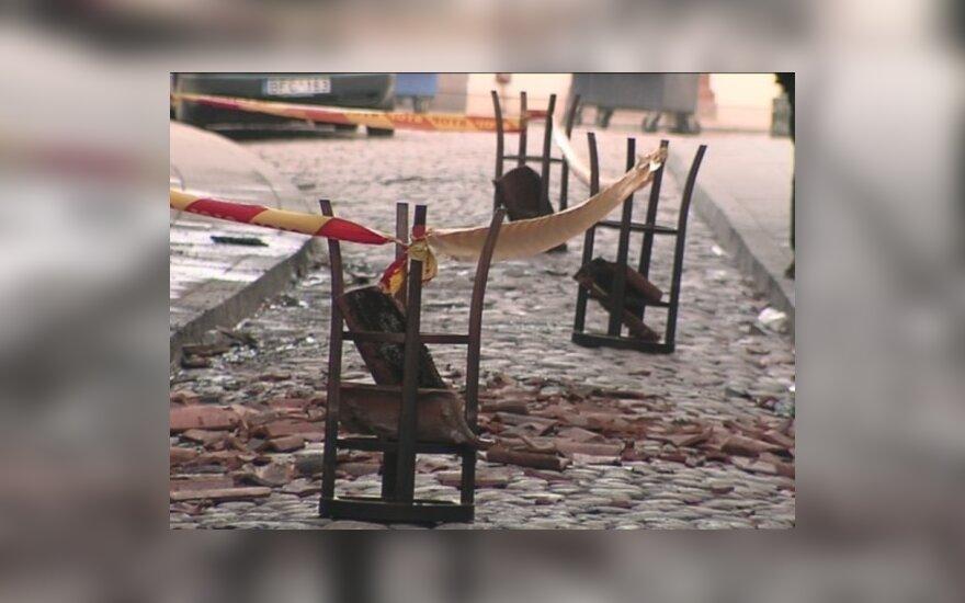 В Вильнюсе снова сгорел бар Brodvėjus