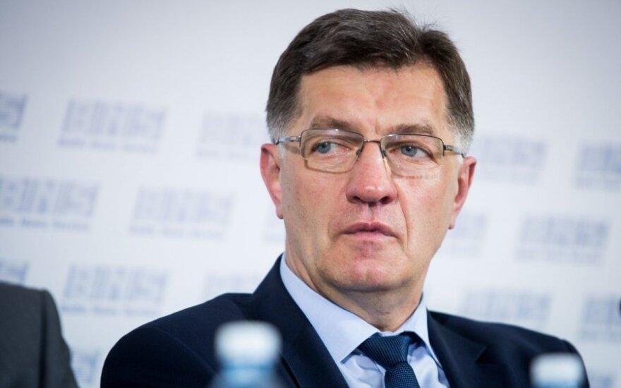 Algirdas Butkevičius po rozmowie z prezydent: Nie jesteśmy Koreą Północną