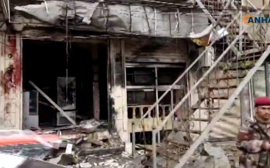 Взрыв в сирийском Манбидже: 4 американских военных убиты
