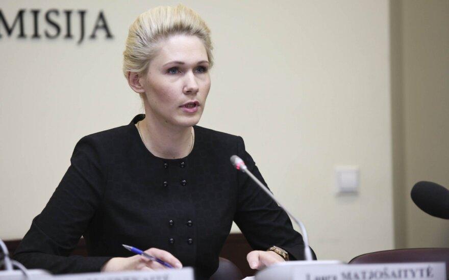 Vyriausiosios rinkimų komisijos pirmininko pavaduotoja Laura Matijošaitytė