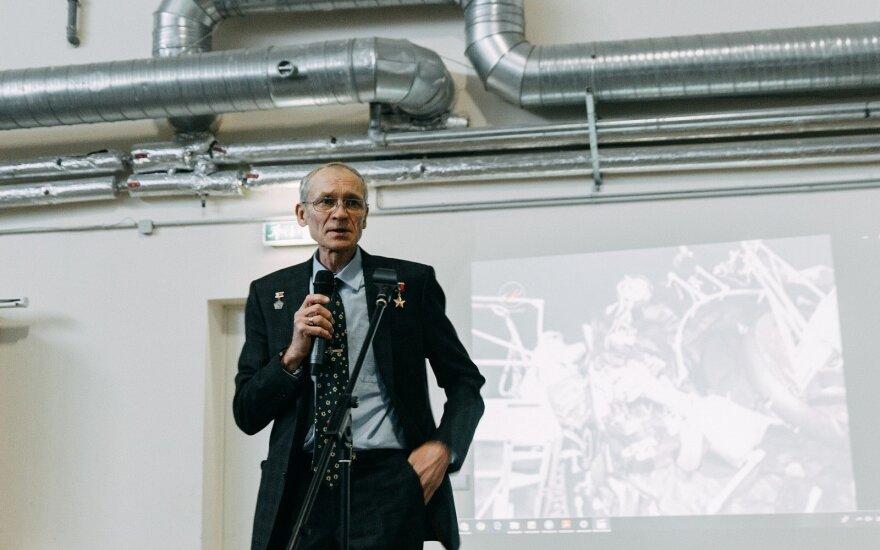 Встреча с космонавтом Сергеем Авдеевым