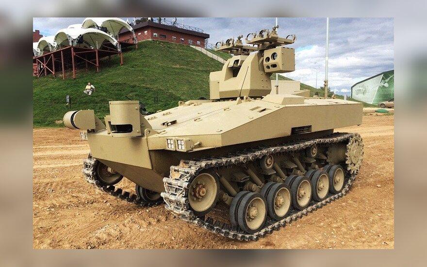 В России разрабатывается 20-тонный боевой робот