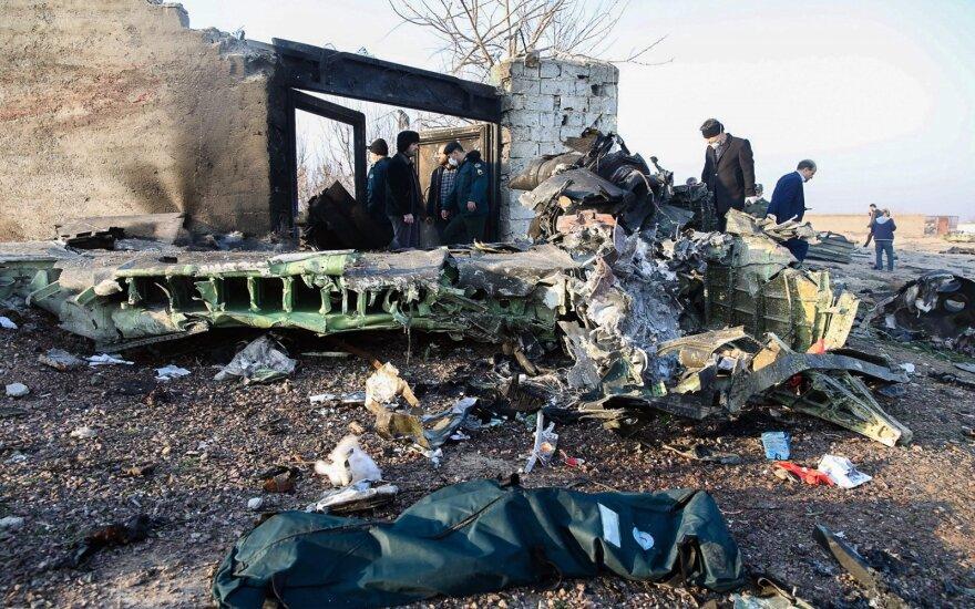 Irane sudužus Ukrainos keleiviniam lėktuvui žuvo 176 žmonės