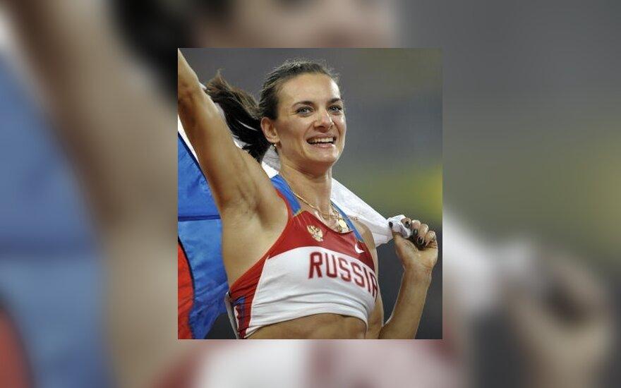 """Елена Исинбаева получила """"спортивный Оскар"""""""