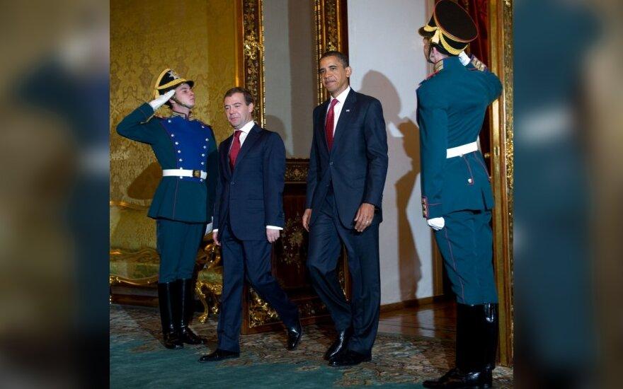 Обама и Медведев провели переговоры и подвели итоги