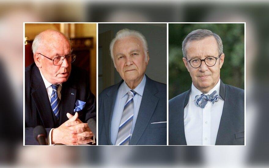 Трое президентов Эстонии из четырех были избраны в коллегии выборщиков