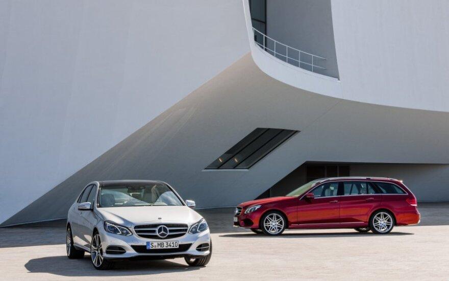 Официальные снимки нового Mercedes-Benz E-class утекли в Сеть