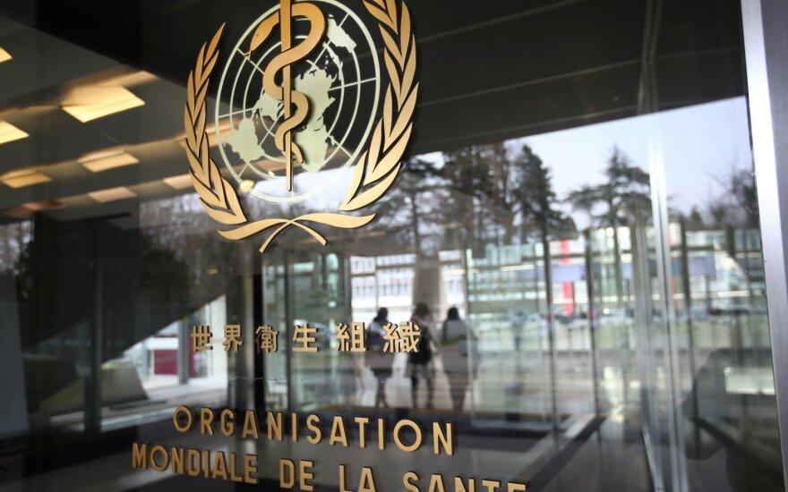 Pasaulio sveikatos organizacijos (PSO) būstinė Ženevoje (Šveicarija)