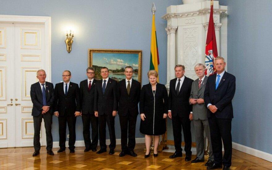 Президент: сотрудничество в формате NB8 является исключительным