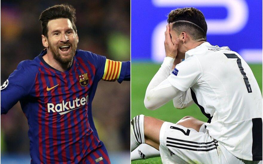 Lionelis Messi, Cristiano Ronaldo