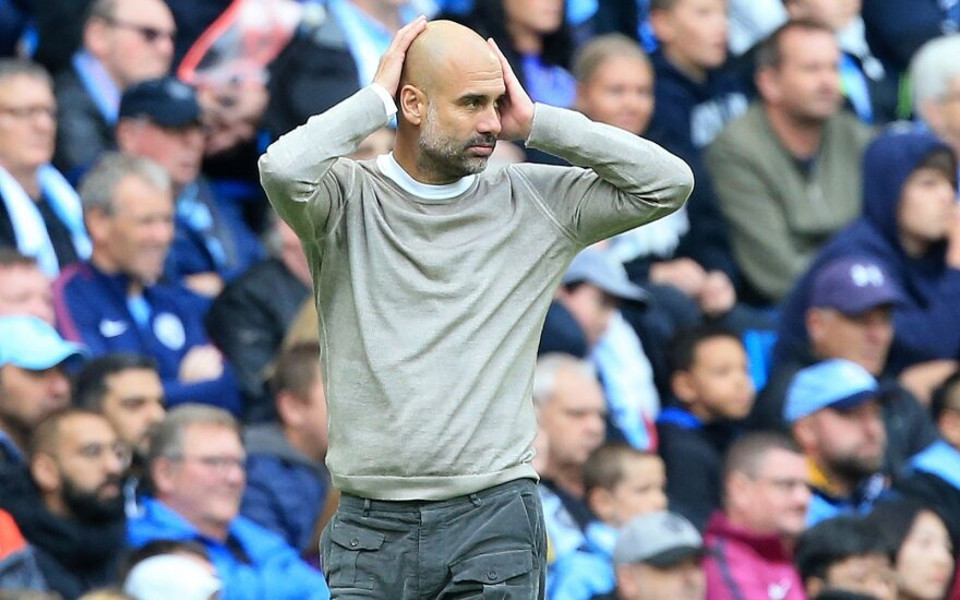 """Manchester City"", Pepas Guardiola"