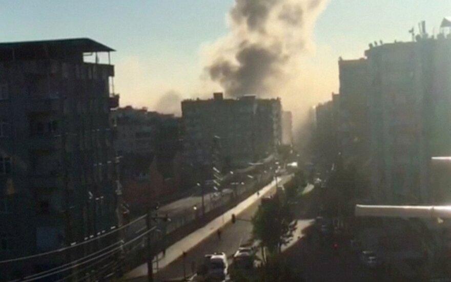Один человек погиб при взрыве в турецком Диярбакыре