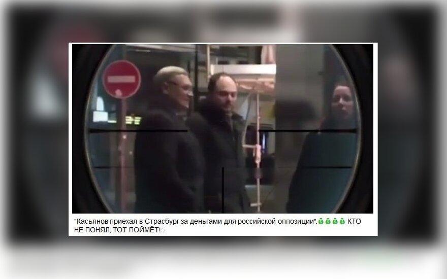Министр информации Чечни: на видео с Касьяновым был не прицел, а перископ