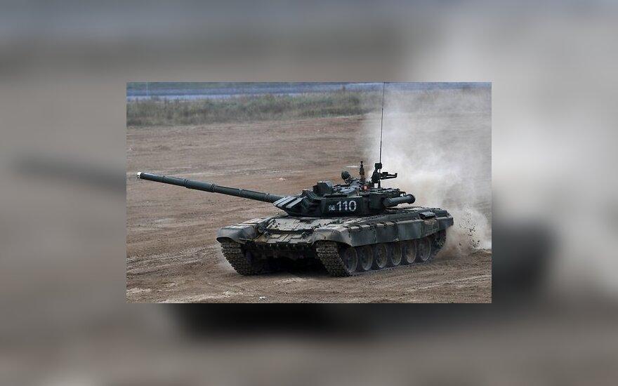 """На учениях """"Запад-2017"""" испытаны новейшие российские танки"""
