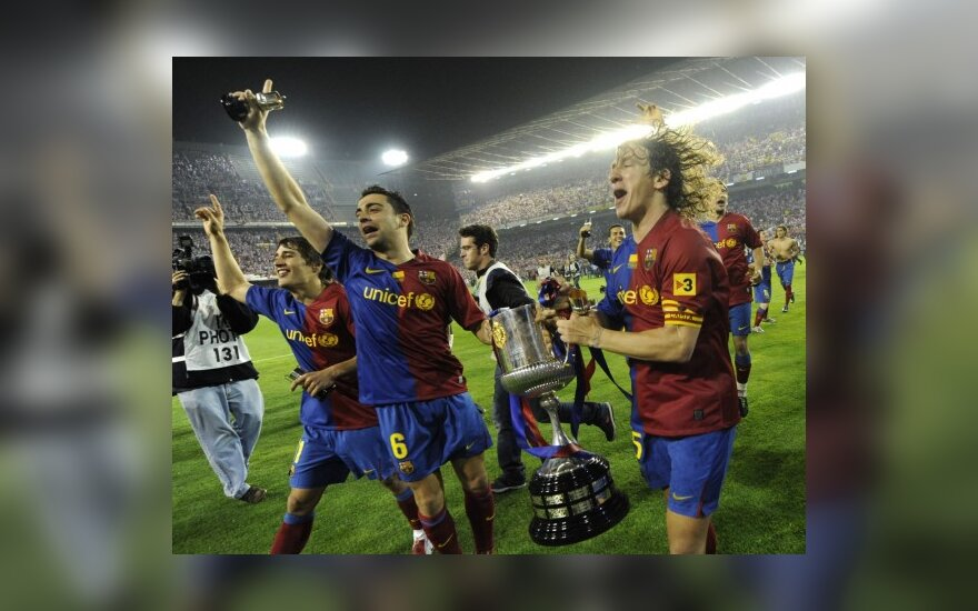"""Barcelona"" iškovojo Ispanijos taurę"