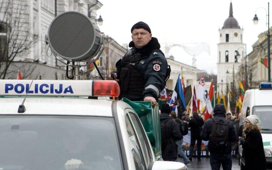"""В Вильнюсе прошло шествие """"Литва – литовцам, литовцы – для Литвы!"""""""