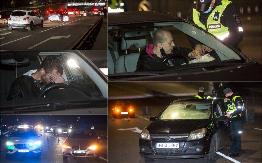 Карантин не вынудил вильнюсцев отказаться от развлечений и баров: попались 8 водителей