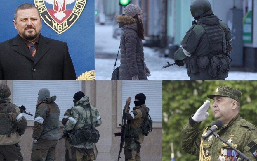 Противостояние в Луганске продолжается: аресты, военная техника и ЧВК